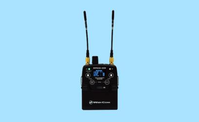 il ricevitore wisicom mpr50 con due antenne