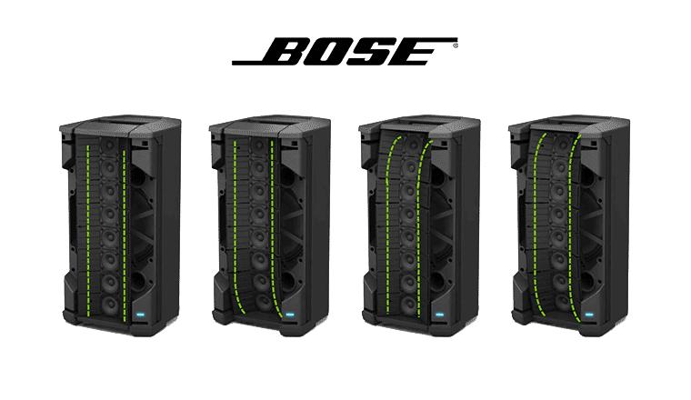 bose f1 model 812: i quattro pattern di copertura