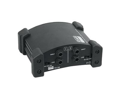 DAP Audio PDI-200, DI-box passiva a due canali