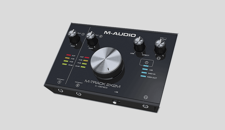 M-Audio M-Track 2×2M interfaccia audio usb