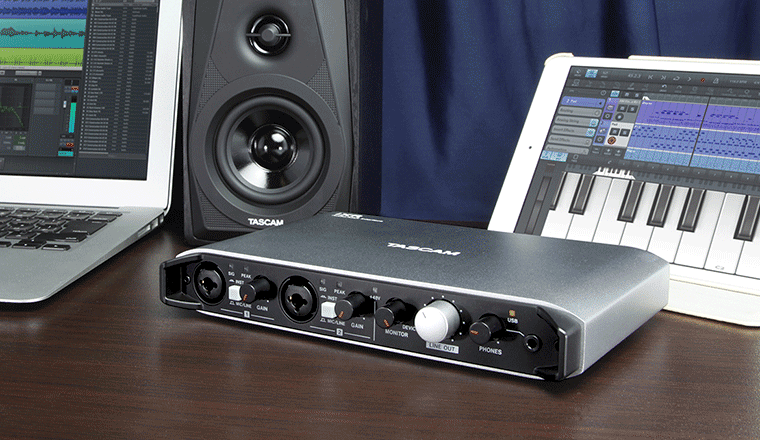 tascam ixr, interfaccia audio midi