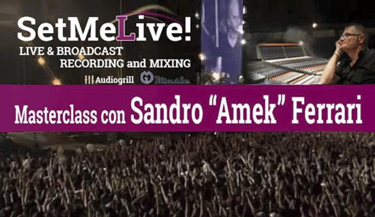 Sandro Amek Ferrari - Masterclass