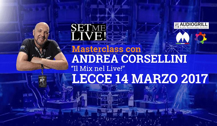 La masterclass di Andrea Corsellini