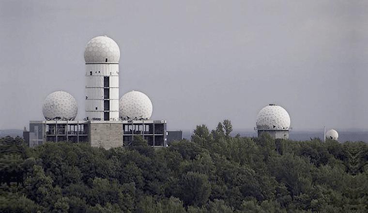 la torre di teufelsberg emulata da Balance Mastering