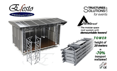 il sistema modulare efesto astroroof