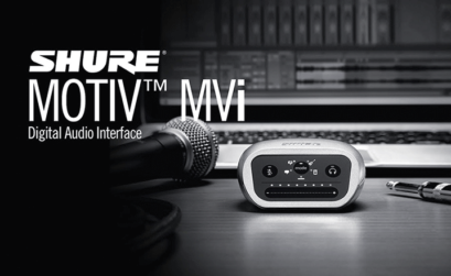 L'interfaccia audio digitale per la registrazione portatile Shure Motiv MVi