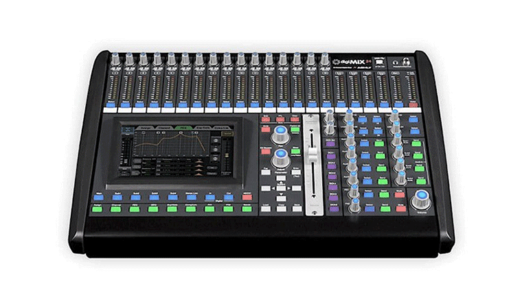Il mixer digitale Ashly DigiMix24