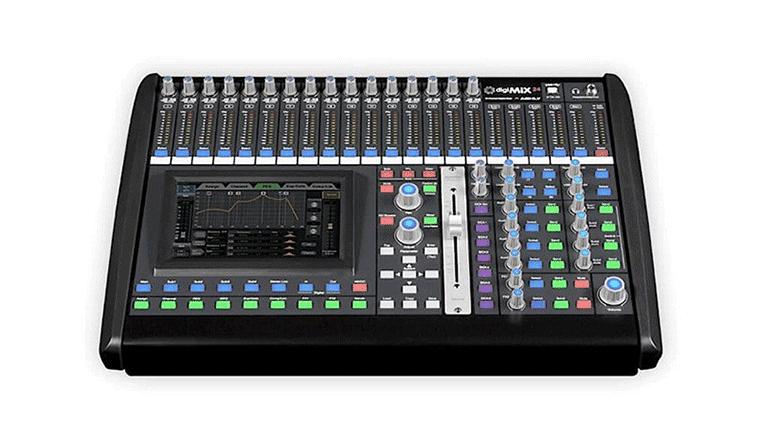 Il mixer digitale Ashly DigiMix24
