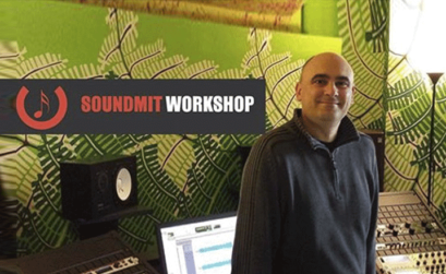 gianni vallino docente del workshop mastering in the box