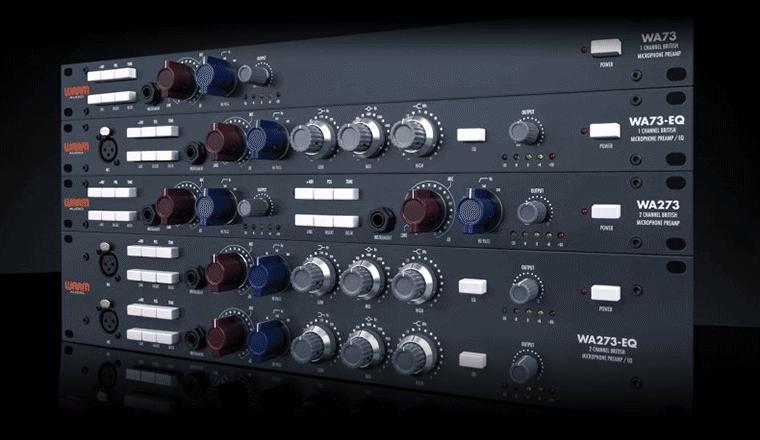 i prodotti della famiglia warm audio wa73