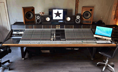 la console ssl dell'halo studio