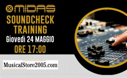 midas soundcheck training