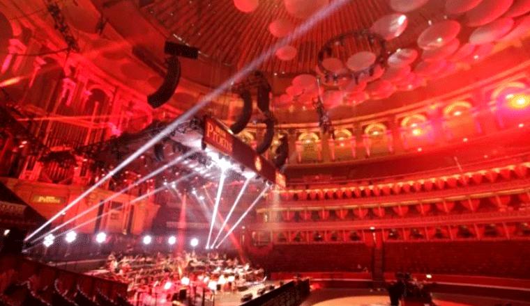il sistema l-isa di l-acoustic ai bbc proms 2018