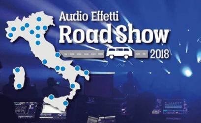 locandina Road Show di Audioeffetti