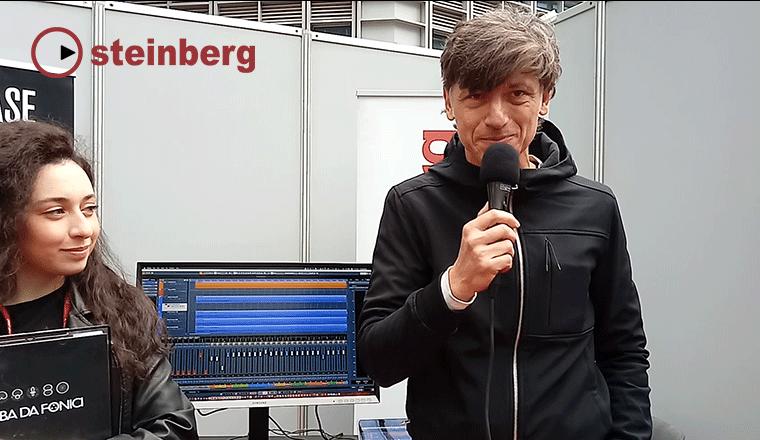 Franco Fraccastoro di Steinberg Cubase al FIM 2019