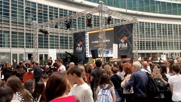 Piazza Città di Lombardia - un'immagine del FIM 2018